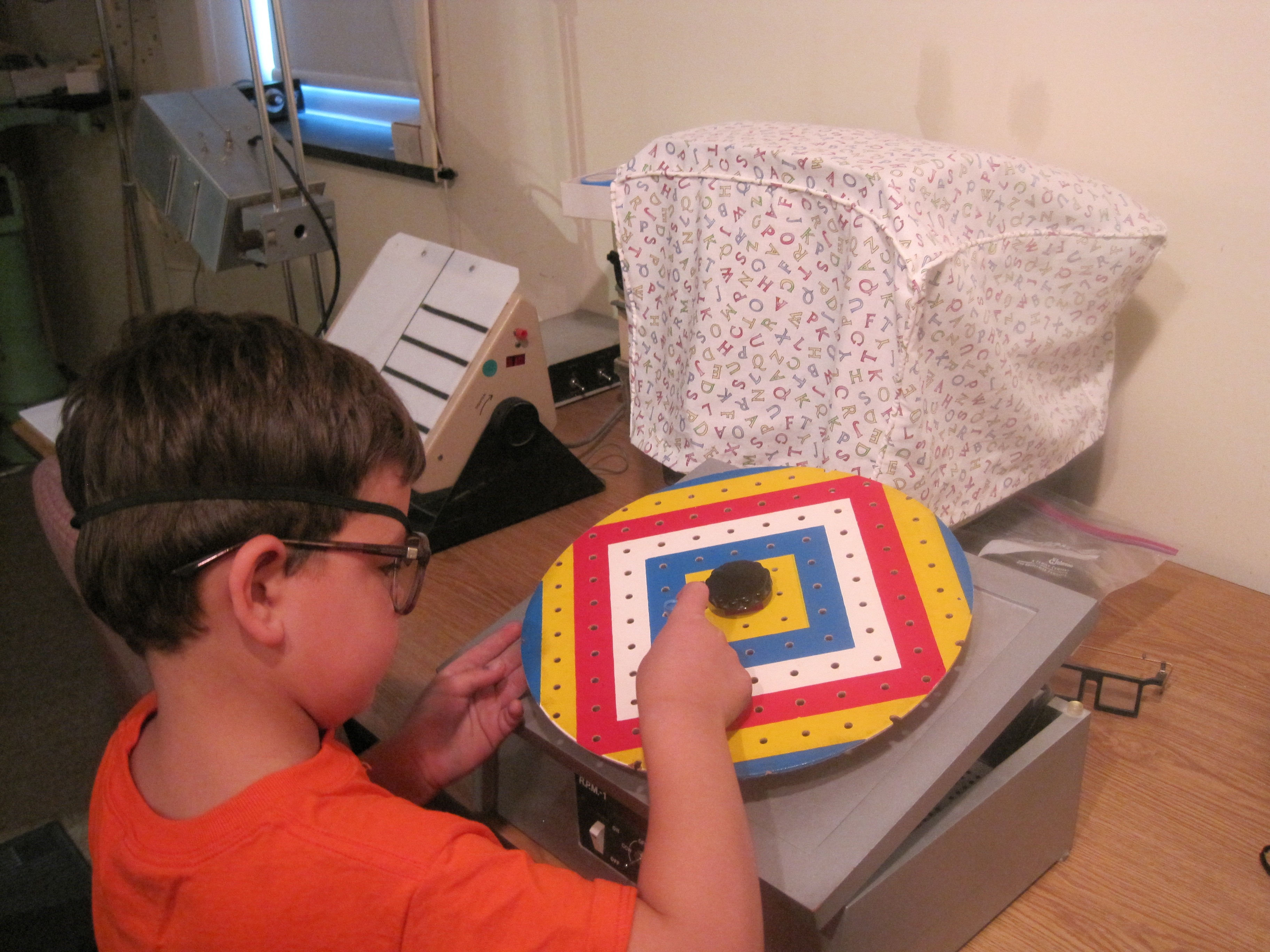 pegs vision therapy